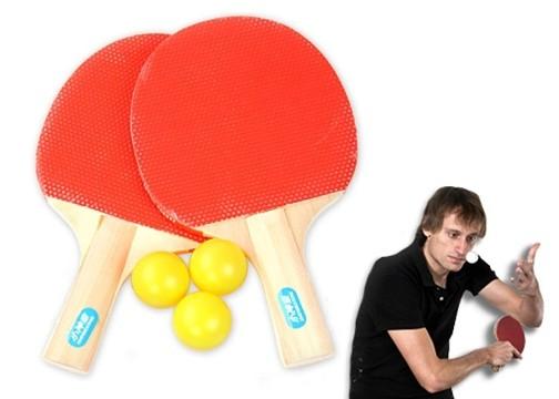 Masa Tenisi Seti : 2 Adet Raket + 3 Adet Top