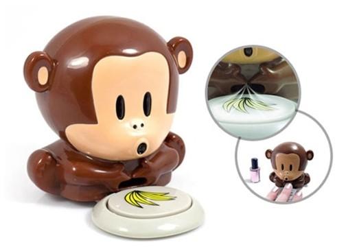 Maymun Tasarımlı Oje Kurutucu - Monkey Nail Dryer