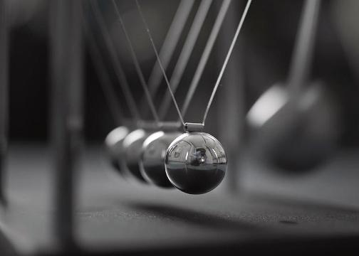 Metal Denge Topları Newton's Cradle