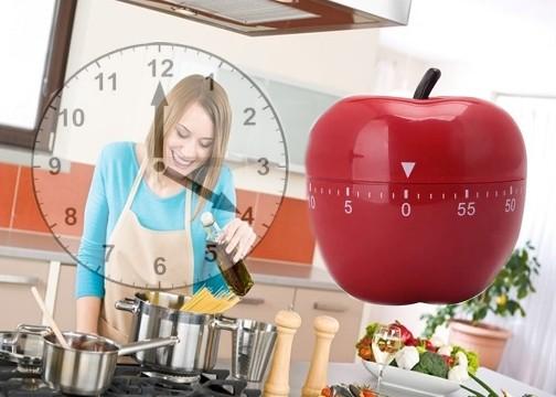 Mutfak Zamanlayıcı Timer Elma Yumurta Tencere
