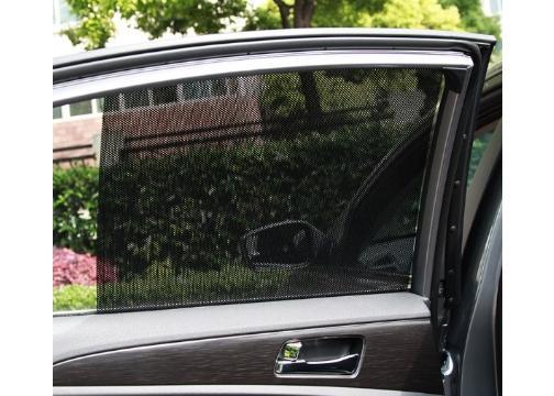 Noktalı Araba Güneşliği Yan Cam Filmi (2 Adet)