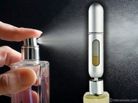Parfüm Şişesinden Dolabilir Cep Parfüm Şişesi