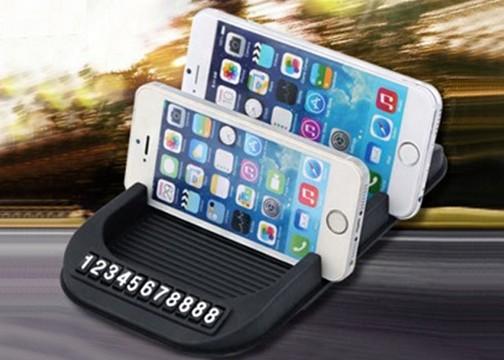 Park-Tel Akıllı Telefon Tutucu Pad: Aracınızda Telefon Numaranız Gözüksün