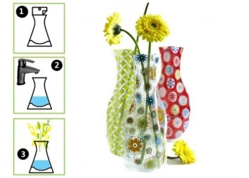 Katlanır Pratik Vazo: Plastik