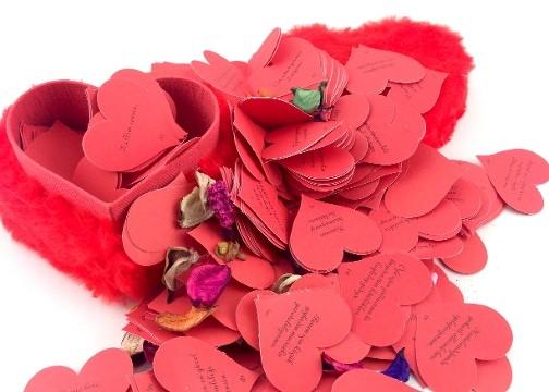 Romantik Peluş Aşk Kutusu