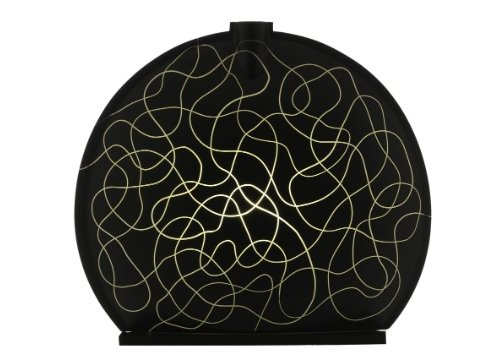 Sensohome Lamp Stone Large Neuron Black Cream Lamba