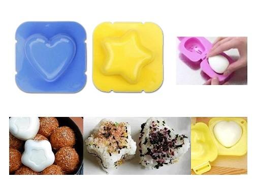 Sevimli Yumurta Haşlama Kalıpları (2 adet)