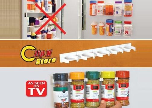 Şişe ve Kavanoz Organizeri: Clip n Store