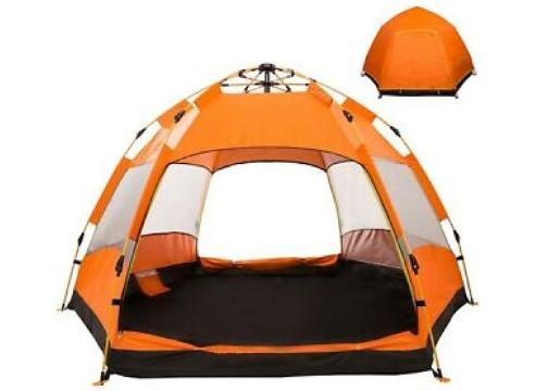 Tam Otomatik Hexagonal Kamp Çadırı 8 Kişilik