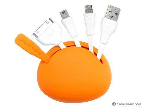 Tasarım Harikası Spider Çoklu USB Kablo