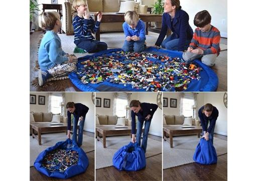 Oyun Mat: Taşınabilir Büyük Oyuncak Hurcu