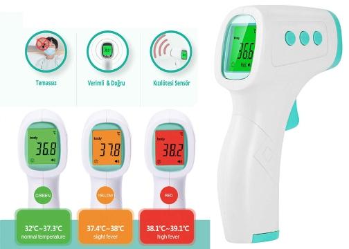 Temassız Dijital Ateş Ölçer Digital Termometre