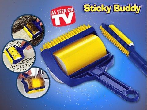 Özel Yapışkanlı Kıl - Tüy - Yün Temizleyici - Sticky Buddy