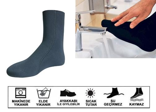 Termal Çorap: Su Geçirmez Termal Mest (Small/Medium/Large/XLarge)