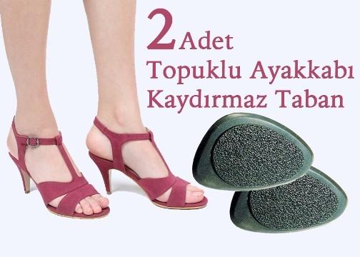 Topuklu Ayakkabı Altına Yapışan 2 Adet Kaydırmaz Tabanlık