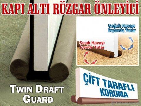 Çift Taraflı Kapı Altı Rüzgarlığı (Isı ve Enerji Tasarrufu) - Twin Draft Guard