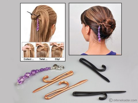 Saç Şekillendirme Seti - Twist n Clip