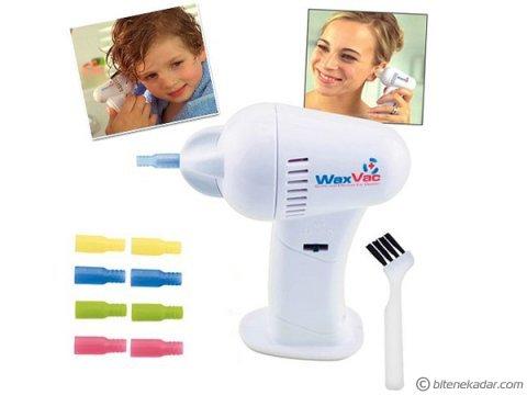 Vakumlu Kulak Temizleme Aleti: WaxVac Sağlıklı Kulak Temizliği