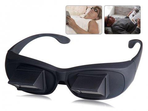 Yatarken Kitap Okuma ve Televizyon Gözlüğü - Tembel Gözlüğü (Lazy Glass)