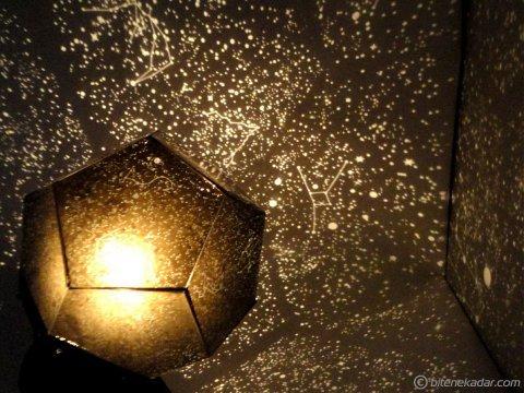 360 Derece Yıldız Projektör Lamba: Astroloji Lambası