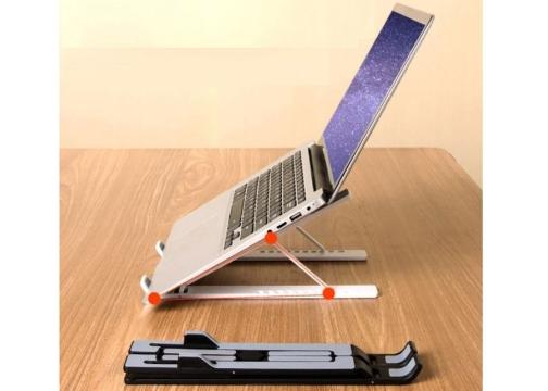 Yükseklik Ayarlı Katlanabilir Laptop Tablet Standı