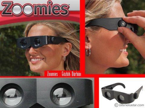 Gözlük Dürbün: Zoomies - Gözlük Şeklinde Dürbün
