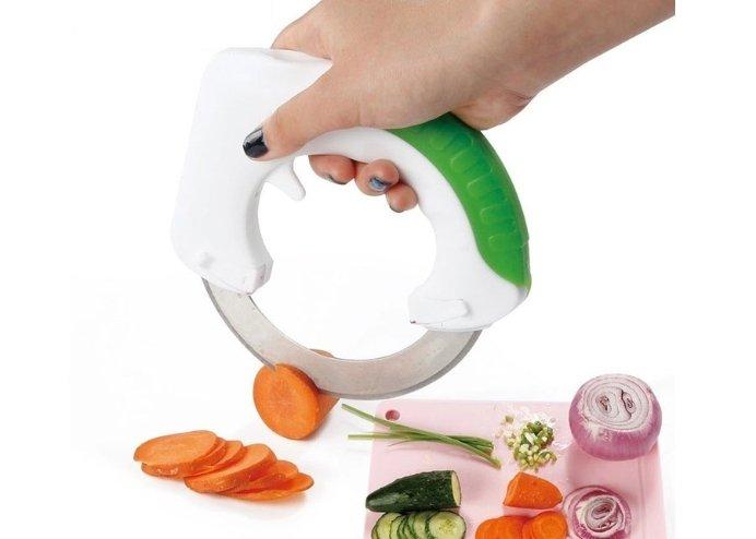 360 Derece Dairesel Pratik Doğrayıcı Bıçak