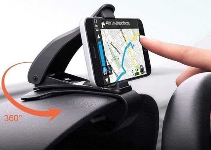 360 Derece Araç Gösterge Paneli Üzerine Takılan Telefon Tutucu