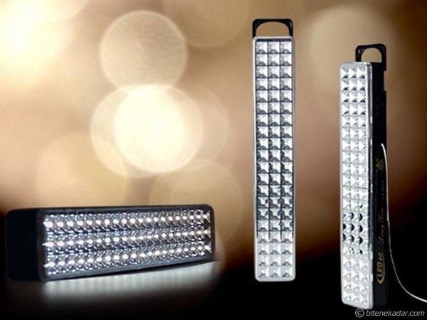 69 LED Şarjlı Işıldak: Işık Canavarı