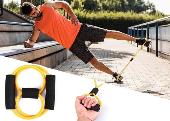 Direnç Bandı Yoga Plates Ve Vücut Geliştirme Egzersiz Bandı