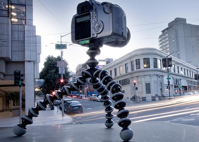 Akrobat Fotoğraf Makinesi Tripodu + Telefon Tutucu