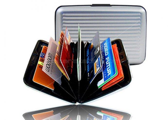 Alüminyum Kredi Kartlık - Cüzdan (2 Model)
