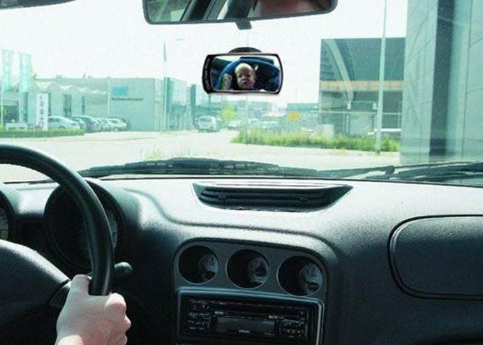 Araba İçi Bebek Dikiz Aynası: 360° Dönebilir Dikiz Aynası