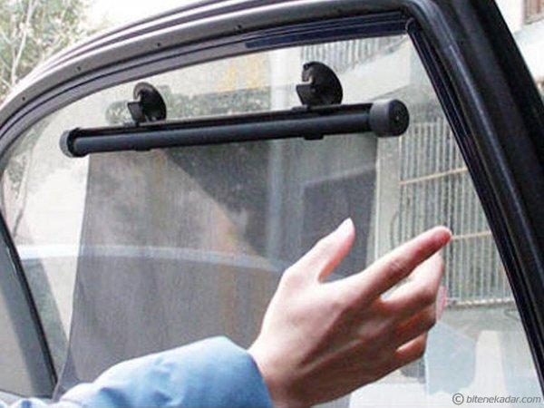 Araç Cam Perdesi: Otomatik Makaralı Araç İçi Güneşlik