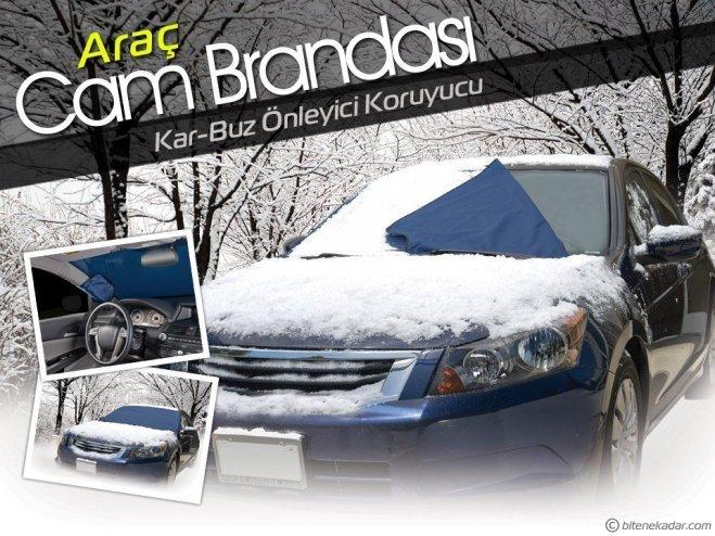 Araç Ön Cam Brandası: Kar-Buz-Çiğ Önleyici Koruyucu