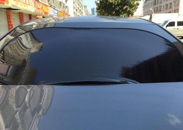 Araç Ön-Arka Cam Güneşliği: Yapışmalı Film Güneşlik