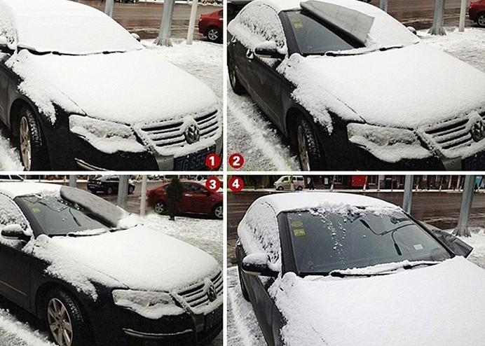 Araç Ön Cam Brandası: Kar-Buz Önleyici Branda