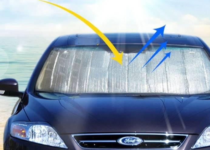 Araç Ön Cam Güneşliği (130x60 cm)