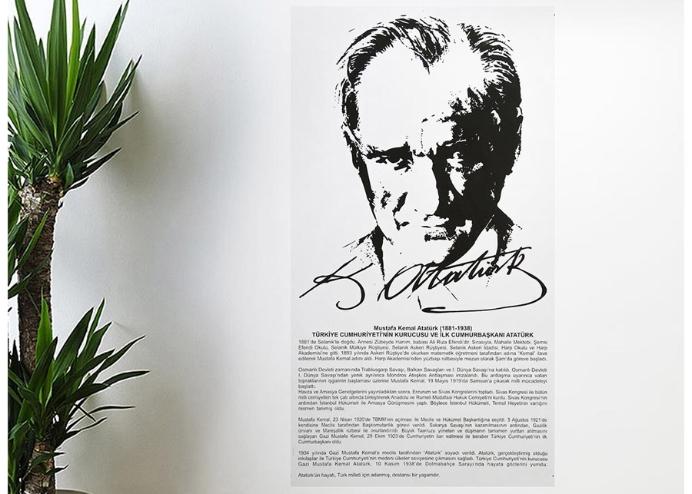 Atatürk Köşesi , Önemli Gün Haftalar Manyetik Duvar Sticker