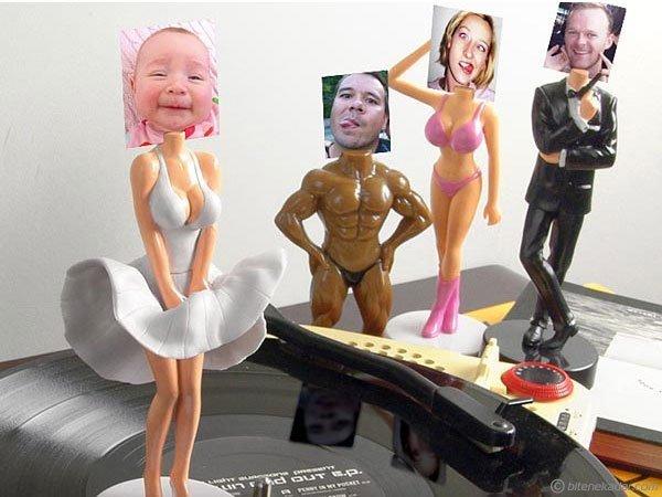 B-SomeBody : Neşeli Fotoğraf Heykelleri - 3D Hollywood Çerçevesi