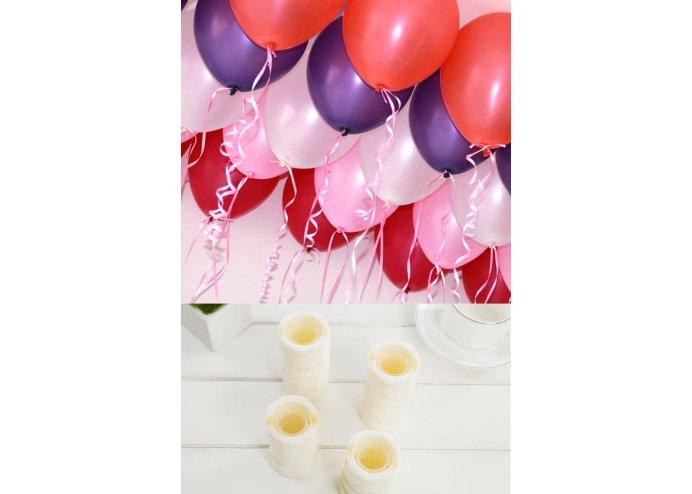 Balonları Tavana Sabitleyen Silikon Yapışkan