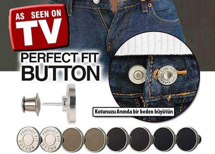 Pantolon ve Eteklerinizde Beden Küçültücü Sihirli Düğme