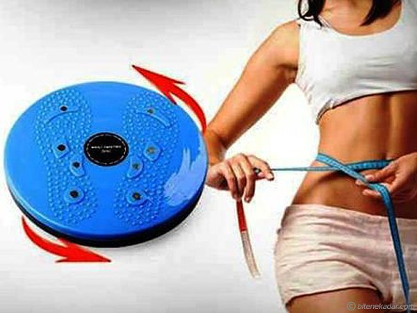 Twister: Bel ve Kalça Form Aleti Waist Twisting Disc