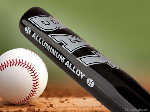 Beyzbol Sopası - Alüminyum Alaşımlı Metal Beyzbol Sopası