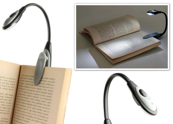 Book Light: Çok Amaçlı LEDli Kitap Okuma Işığı