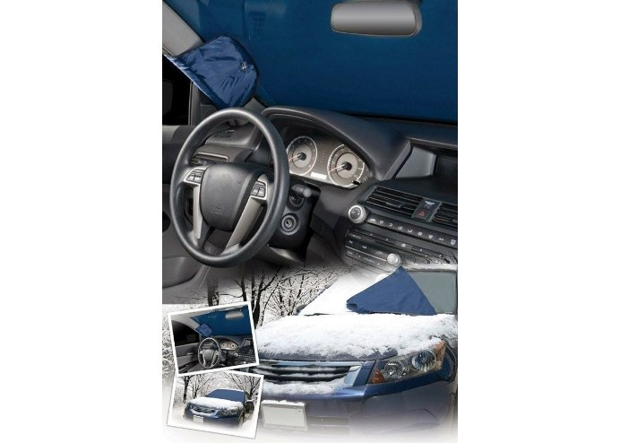 Buffer Otomobil Silecek + Ayna ve Cam Koruyucu 3lü Set