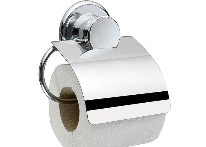 Buffer Vantuzlu Kapaklı Tuvalet Kağıtlık