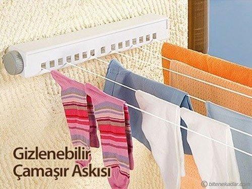 Çek-As Yaylı Çamaşır Kurutmalık