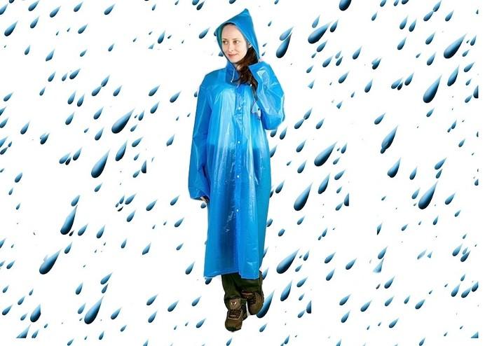 Çıtçıtlı Kalın Yağmurluk
