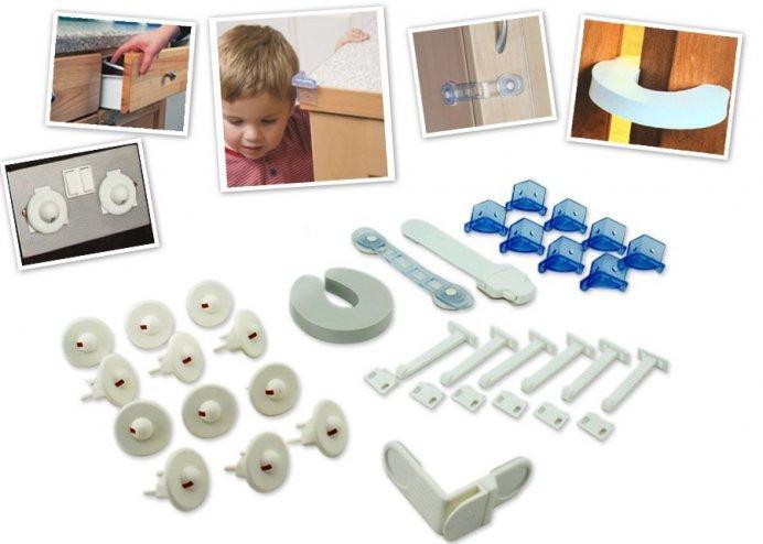 Çocuk Emniyet Kilit Seti (30 Parça) - Home Safety Starter Pack